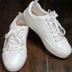 White Zara Trafaluc sneakers
